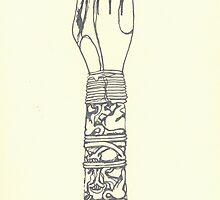 decorative ivory arm by purplestgirl