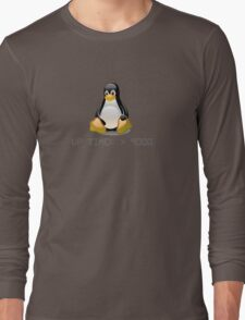 Linux - Uptime Over 9000 Long Sleeve T-Shirt