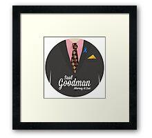 Better Call Saul - Saul Goodman Suit Framed Print