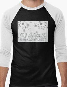 Fantastic garden V Men's Baseball ¾ T-Shirt
