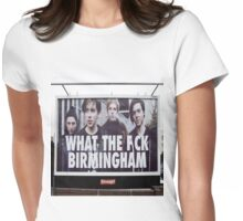 What the eff Birmingham Womens Fitted T-Shirt