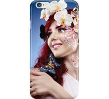 Fantasy makeup iPhone Case/Skin
