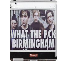 What the eff Birmingham iPad Case/Skin