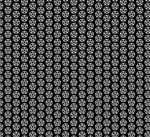 Pentagram Pattern by JustineWho