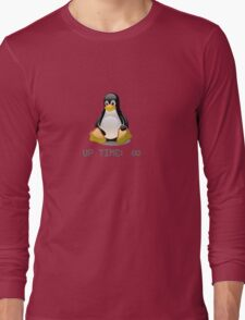 Linux - Uptime Infinity Long Sleeve T-Shirt