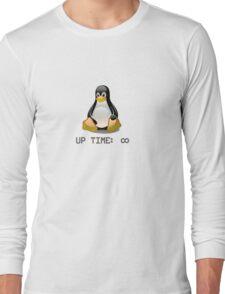 Linux - Uptime Infinity Long Sleeve T-Shirt
