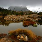 Mt Geryon from the Labyrinth (view large) by Michael Walters