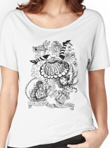 Curiouser and Curiouser Women's Relaxed Fit T-Shirt