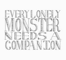 Every Lonely Monster (1) by Sarah O'Neil