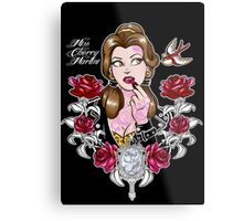 Tattooed Beauty Metal Print