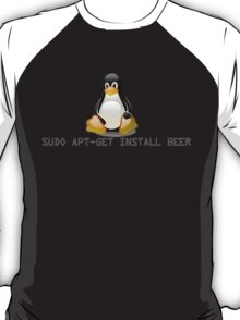 Linux - Get Install Beer T-Shirt