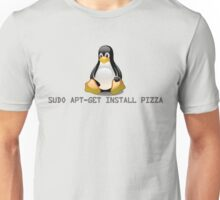 Linux - Get Install Pizza Unisex T-Shirt
