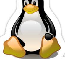 Linux - Get Install Pizza Sticker