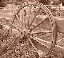 Wagon Wheels  by Lorraine Mc Guffie