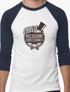 Melbourne Comics Wanker Men's Baseball ¾ T-Shirt