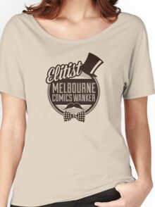 Melbourne Comics Wanker Women's Relaxed Fit T-Shirt