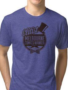 Melbourne Comics Wanker Tri-blend T-Shirt