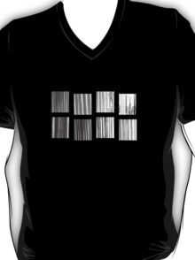 Fragments - B&W Halftone T-Shirt