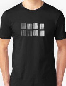 Fragments - B&W Halftone T-Shirt