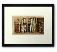 The Ingredients  Framed Print