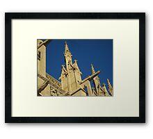 Grand Gothic - Caen, France Framed Print