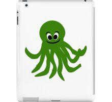 Green Octopus Design  iPad Case/Skin