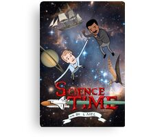 Science Time Canvas Print