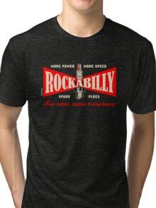 Rockabilly Spark Tri-blend T-Shirt