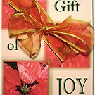 Christmas Gift Card ~ Joy by mmargot