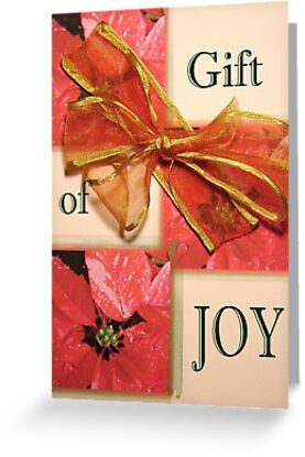 Christmas Gift Card ~ Joy by mmargot