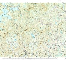 Maine USGS Historical Map Rumford 460823 1994 100000 by wetdryvac