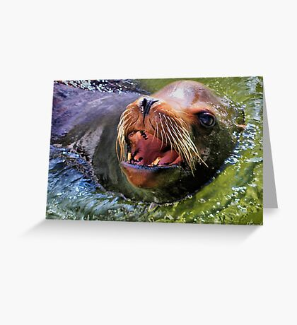 Just Popped Up To Say 'Hi'! Greeting Card