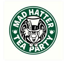 Mad Hatter Tea Party Art Print