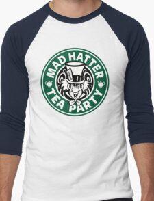 Mad Hatter Tea Party Men's Baseball ¾ T-Shirt