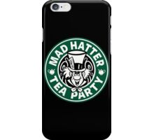 Mad Hatter Tea Party iPhone Case/Skin