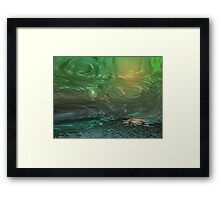 Dimensional Doorway 4 Framed Print