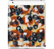 Pepperoni Pizza with Mushrooms and Onions iPad Case/Skin