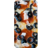 Pepperoni Pizza with Mushrooms and Onions iPhone Case/Skin