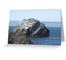 Rock Face Wayside Greeting Card