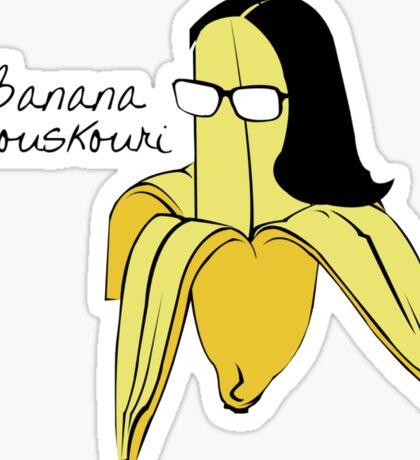 Banana Mouskouri Sticker