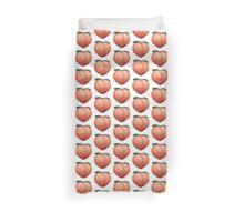 Peach Emoji Duvet Cover