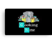 Cooking time Canvas Print