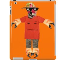 deal with it dragon fruit iPad Case/Skin