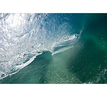 Hollow wave Photographic Print