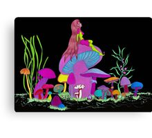 Shroom Goddess Canvas Print