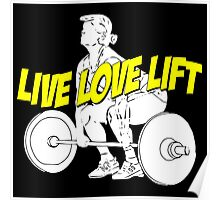 LIVE LOVE LIFT Poster