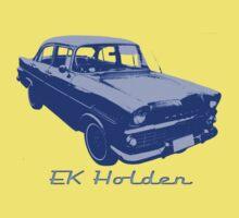 EK/FB Holden (Blue) Kids Tee