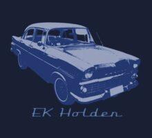 EK/FB Holden (Blue) Kids Clothes