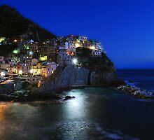 Manarola, Five Lands, Cinque Terre, Liguria, Italy by Monica Di Carlo