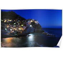 Manarola, Five Lands, Cinque Terre, Liguria, Italy Poster